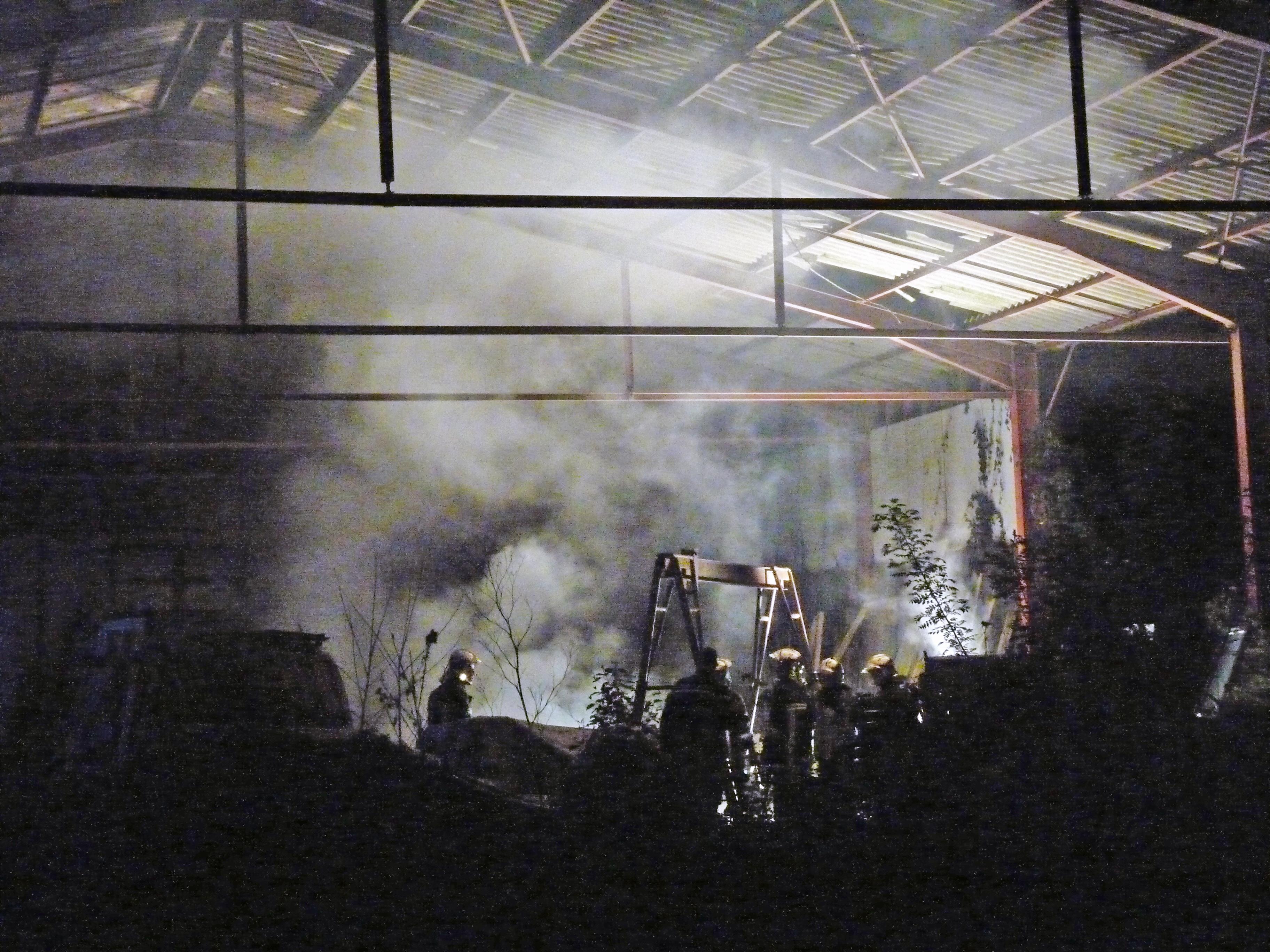 Feu dans un hangar agricole sur la commune de Cahuzac-sur-Vère