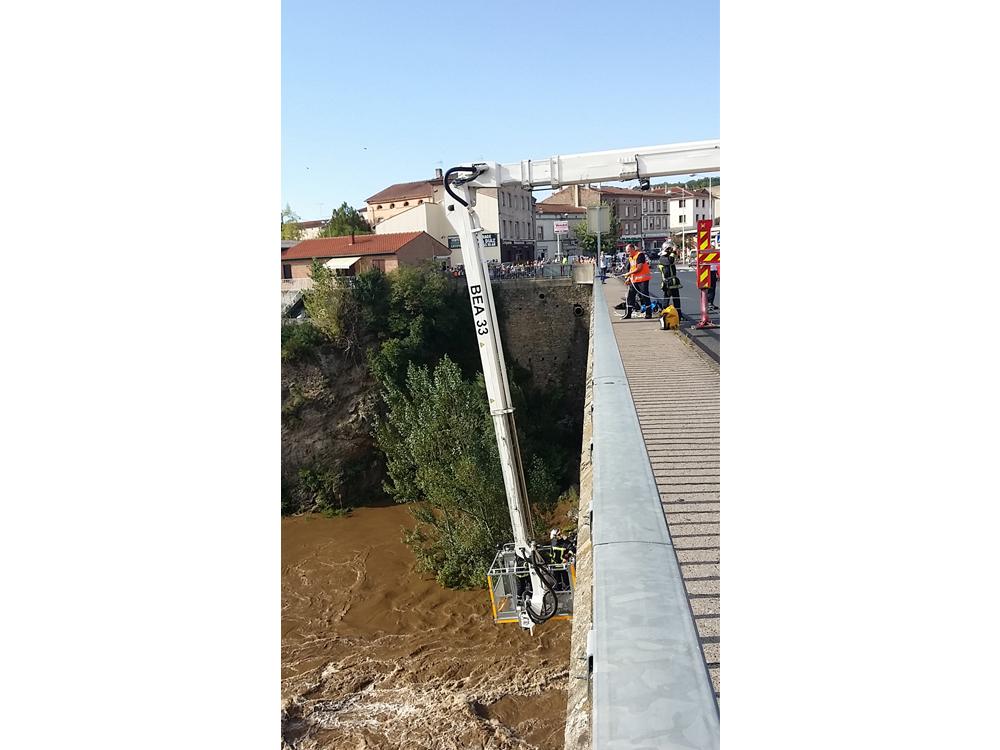 Neuf personnes sauvées de la montée des eaux sur la communes d'Arthès