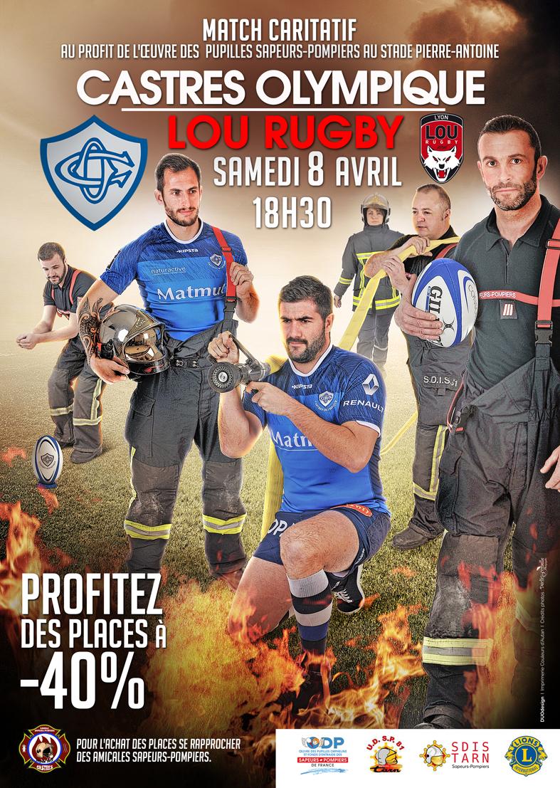 Match de partenariat avec le Castres Olympique