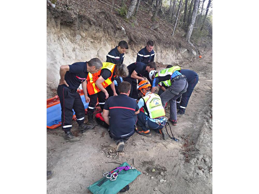 Un bucheron blessé hélitreuillé à Lacrouzette