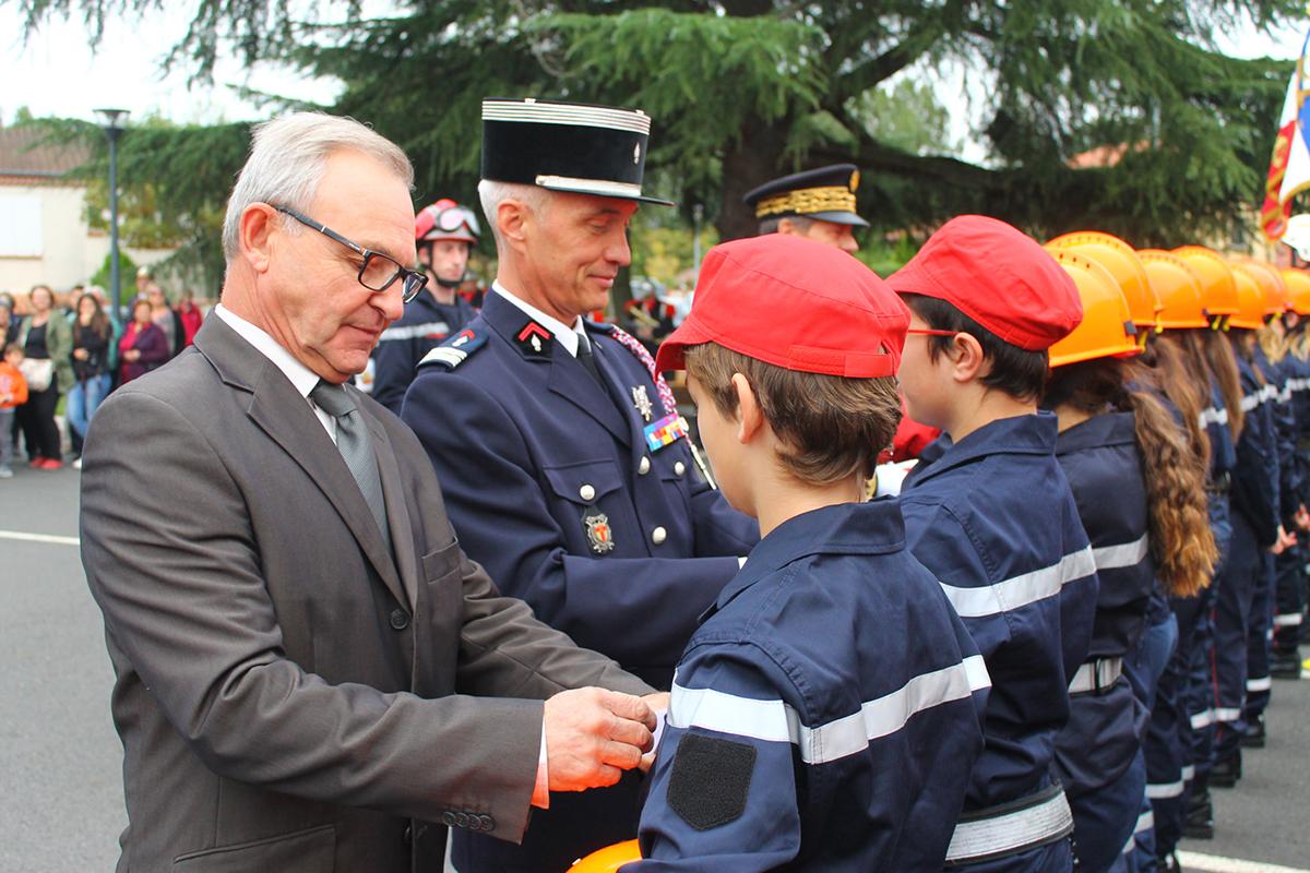 Les Jeunes Sapeurs-Pompiers mis à l'honneur