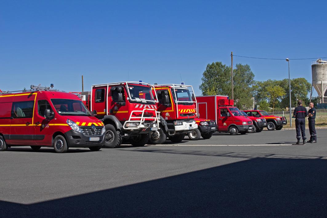 Les sapeurs-pompiers Tarnais en renfort dans l'Aude