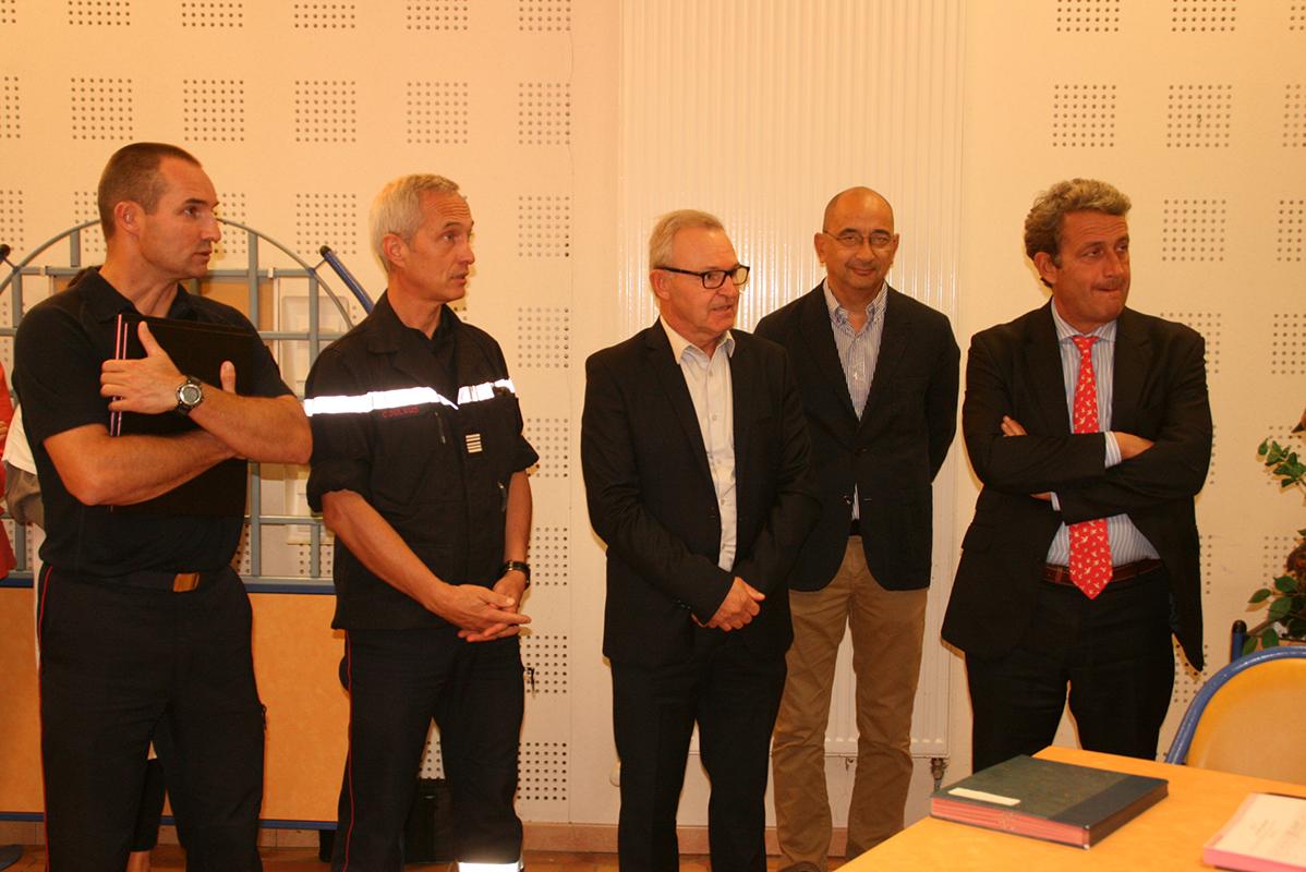 Signature de convention de disponibilité au centre hospitalier de Lavaur