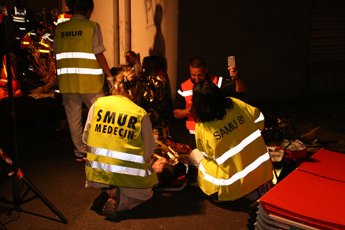 Manoeuvre NOmbreuses VIctimes à Castres