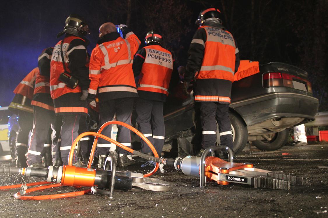 Violente collision à Réalmont