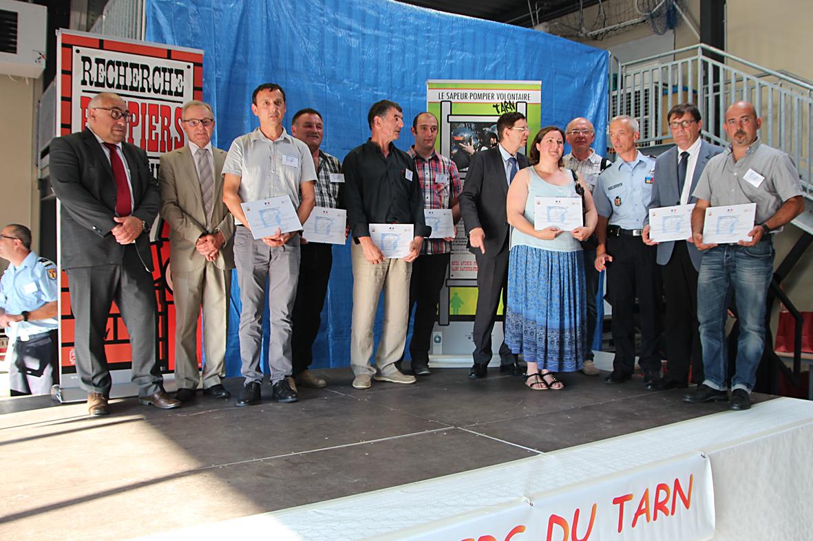 Les employeurs de sapeurs-pompiers volontaires conventionnés mis à l'honneur