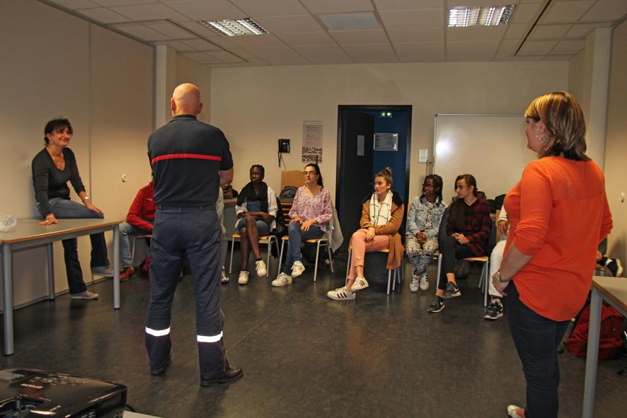Une formation aux gestes de premier secours un peu particulière
