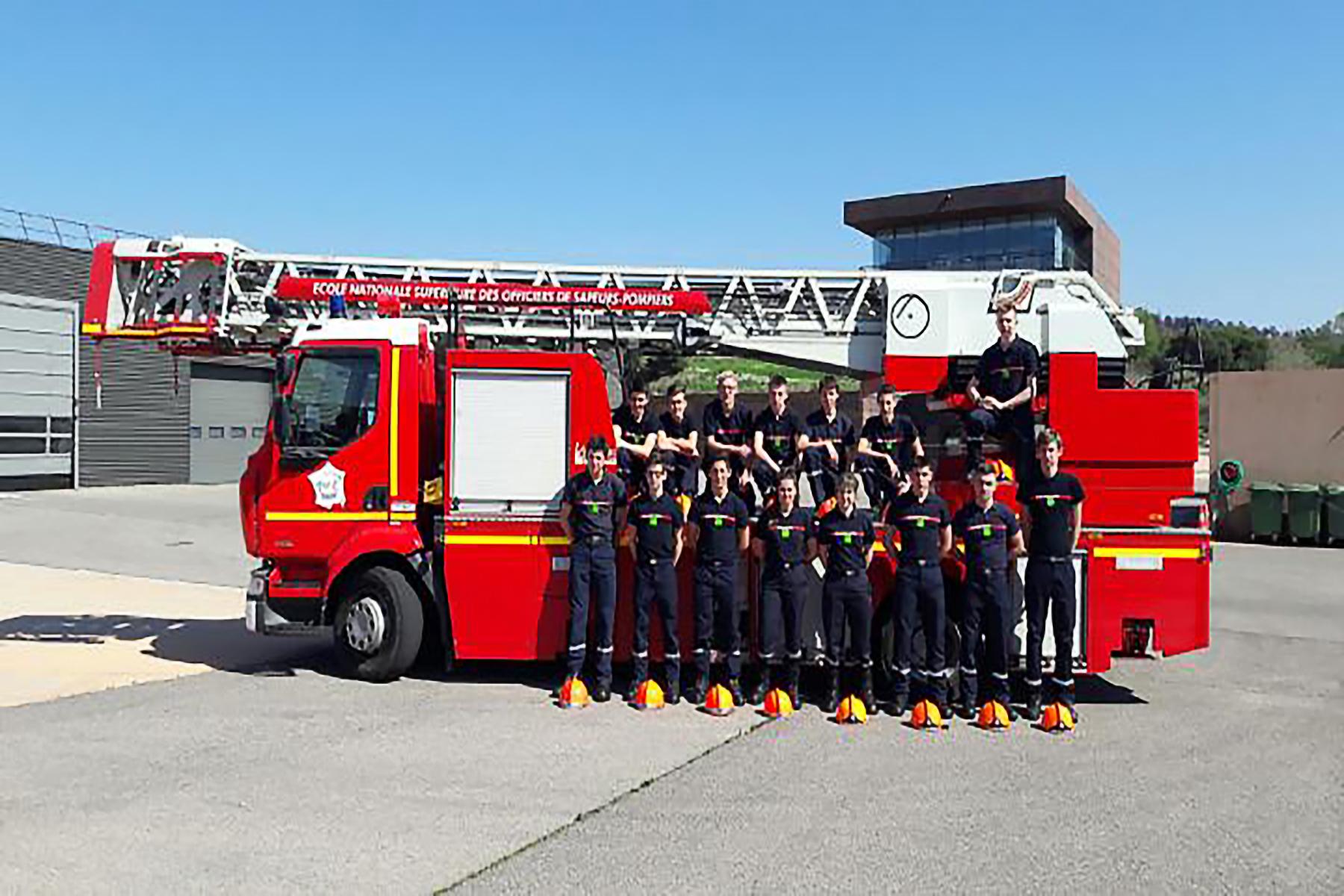 Les jeunes sapeurs-pompiers en voyage à Marseille