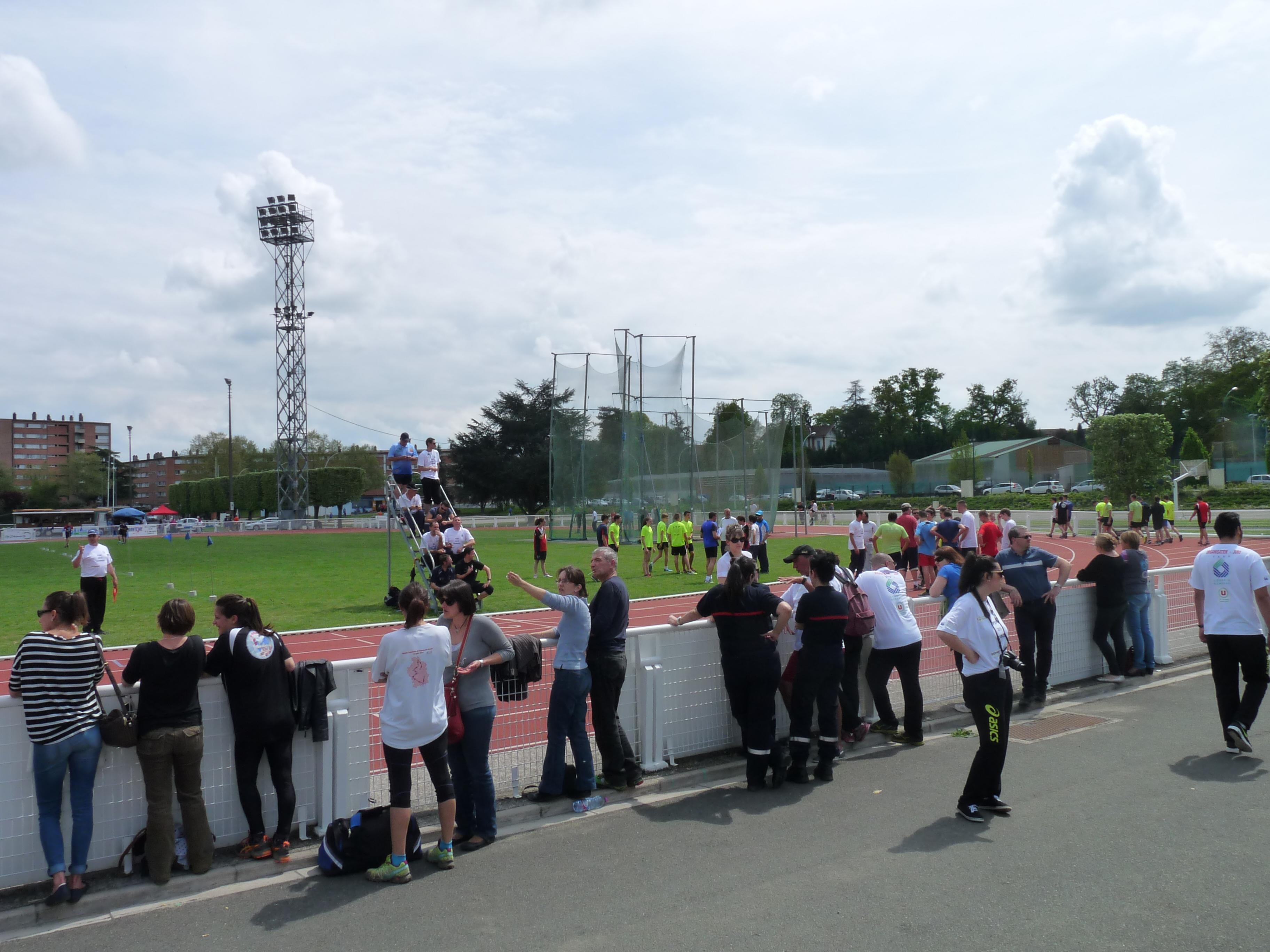 Parcours sportif des sapeurs-pompiers départemental à Carmaux