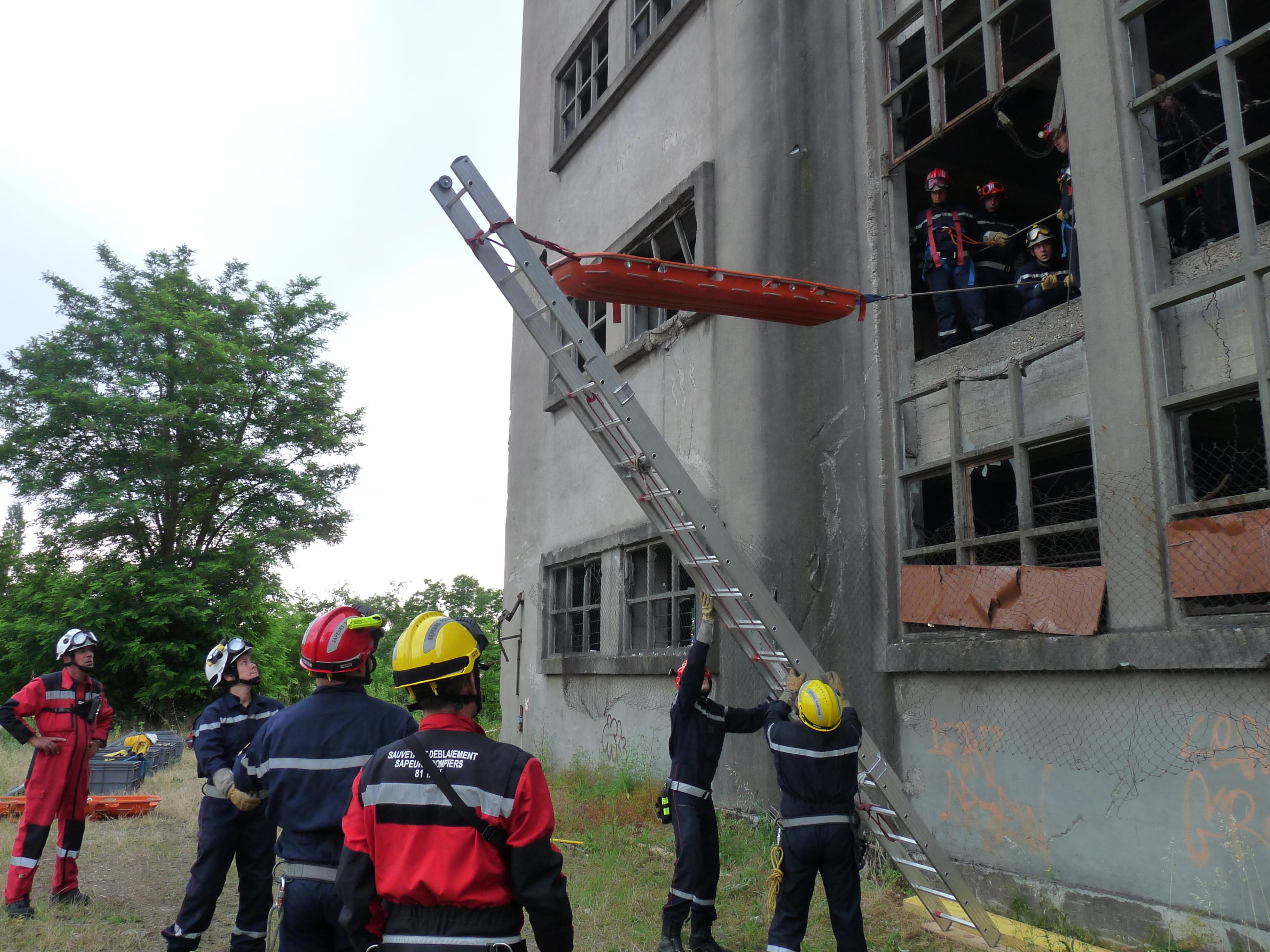 Formation de sauvetage déblaiement de niveau équipier