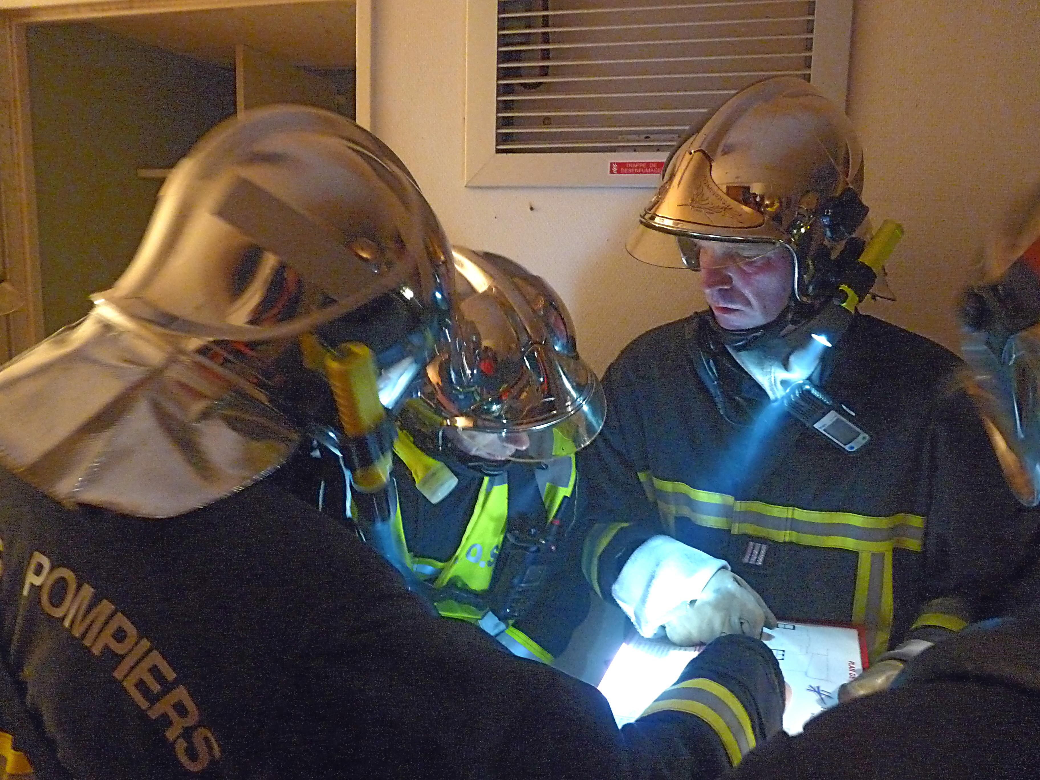 Simulation de feu à l'hopital de Mazamet