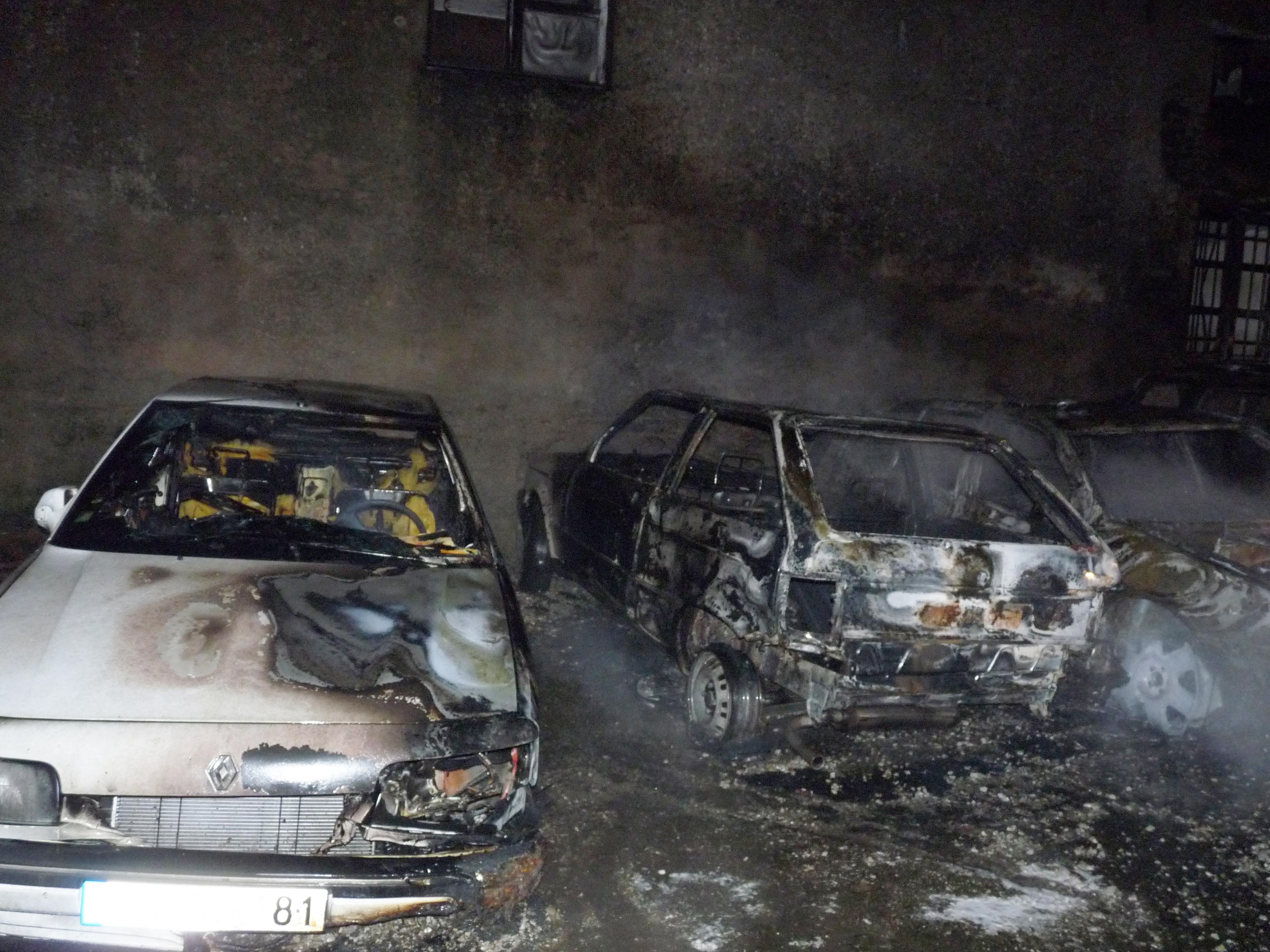 Feux de voitures sur la commune de Mazamet