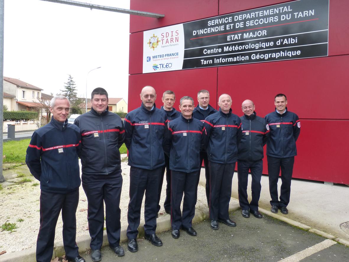 Réunion des directeurs des SDIS de Midi-Pyrénées