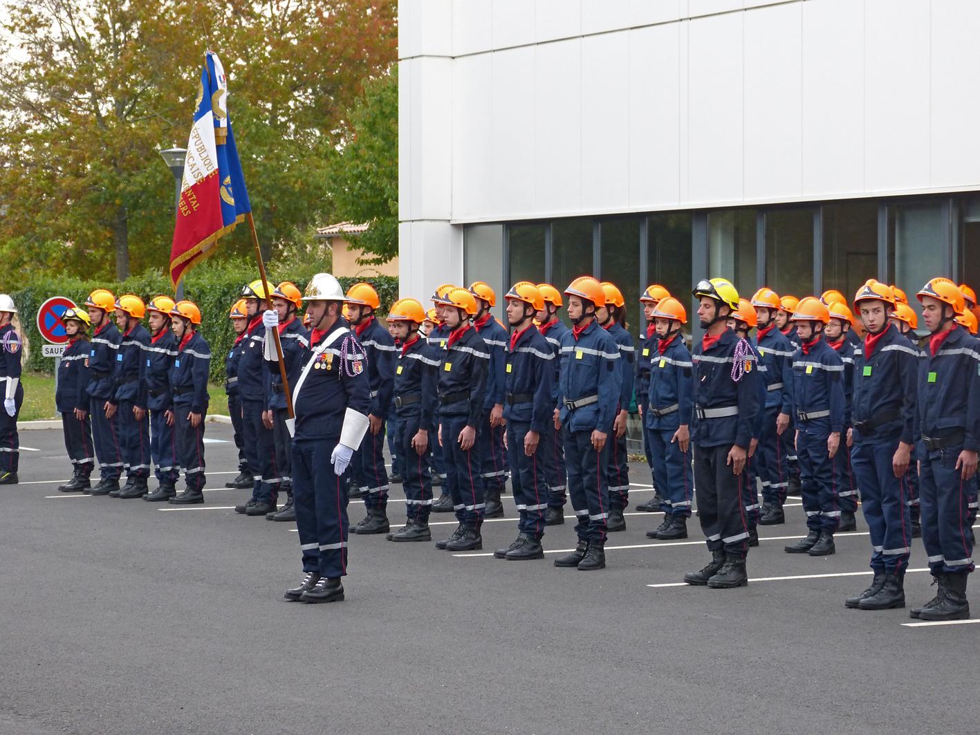 Les Jeunes Sapeurs-Pompiers du Tarn à l'honneur