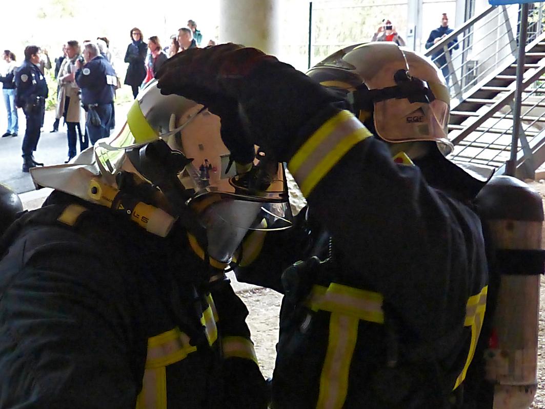 Quand les sapeurs-pompiers d'Albi s'intéressent au patrimoine local...