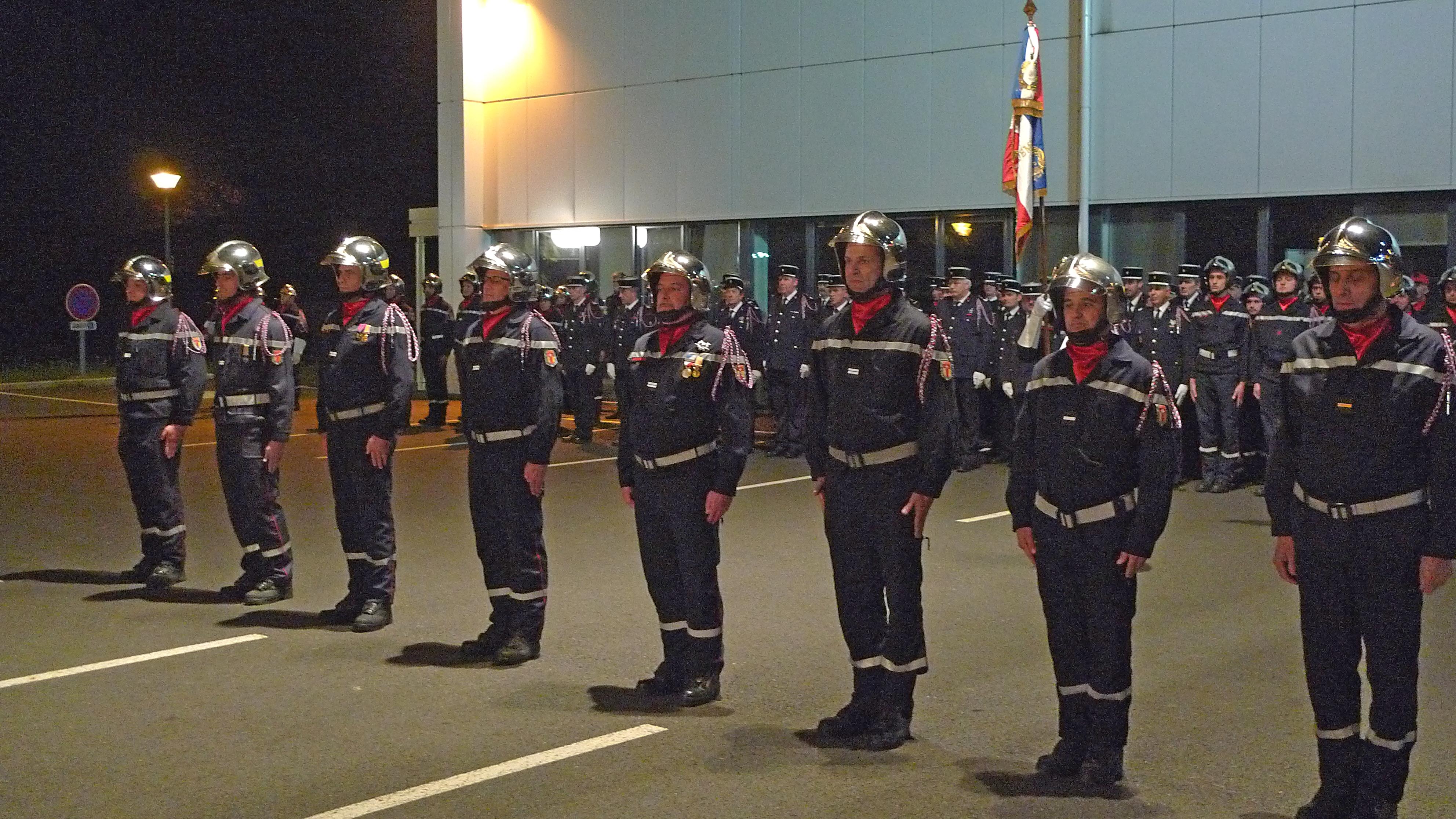 Sainte-Barbe célébrée par les sapeurs-pompiers Tarnais
