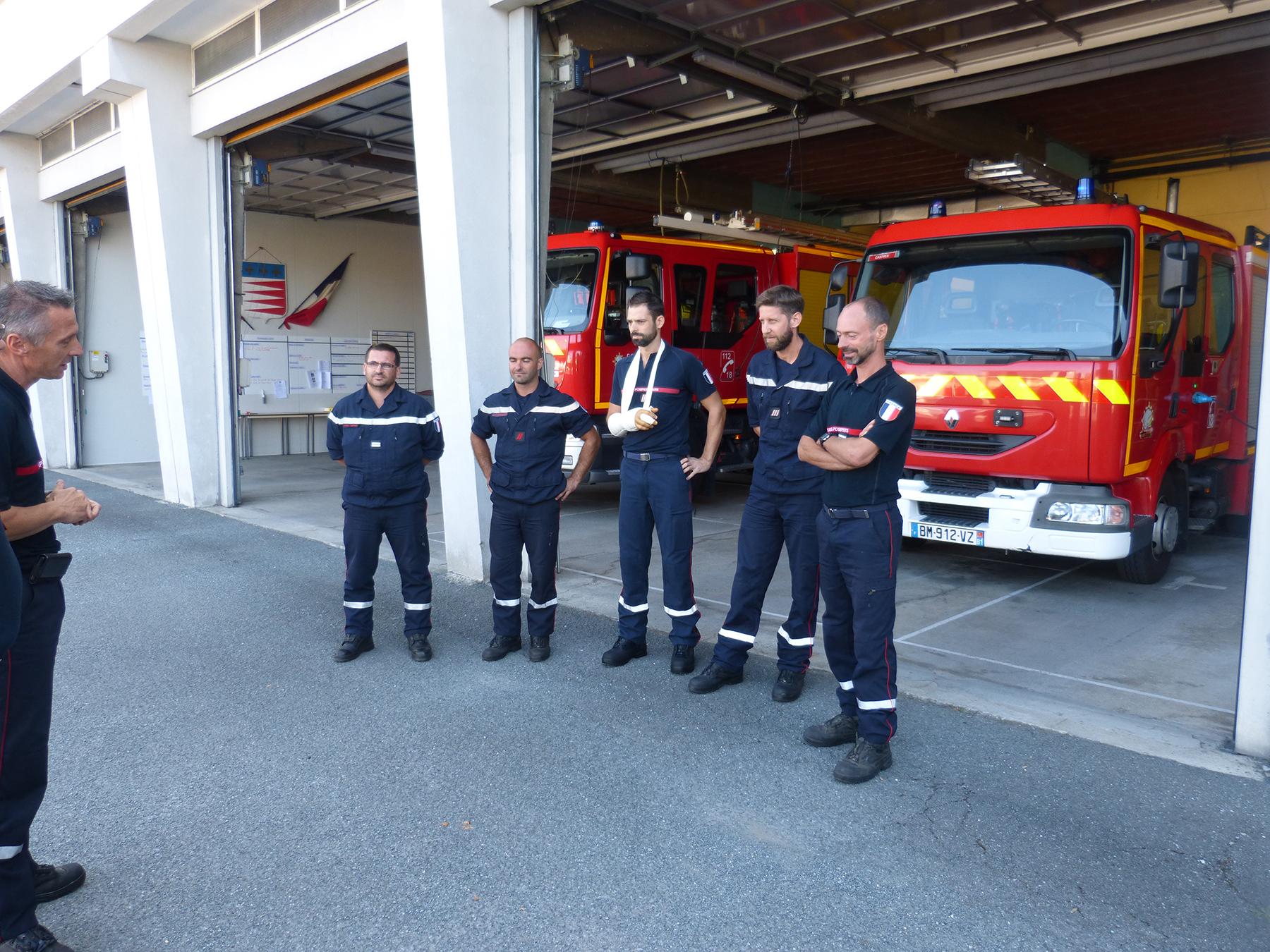 Retour des sapeurs-pompiers Tarnais envoyés en renforts à Saint-Martin.
