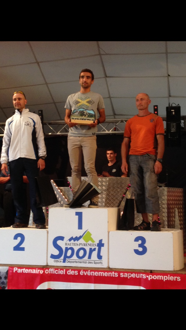 Un tarnais champion de France de trail court sapeur-pompier