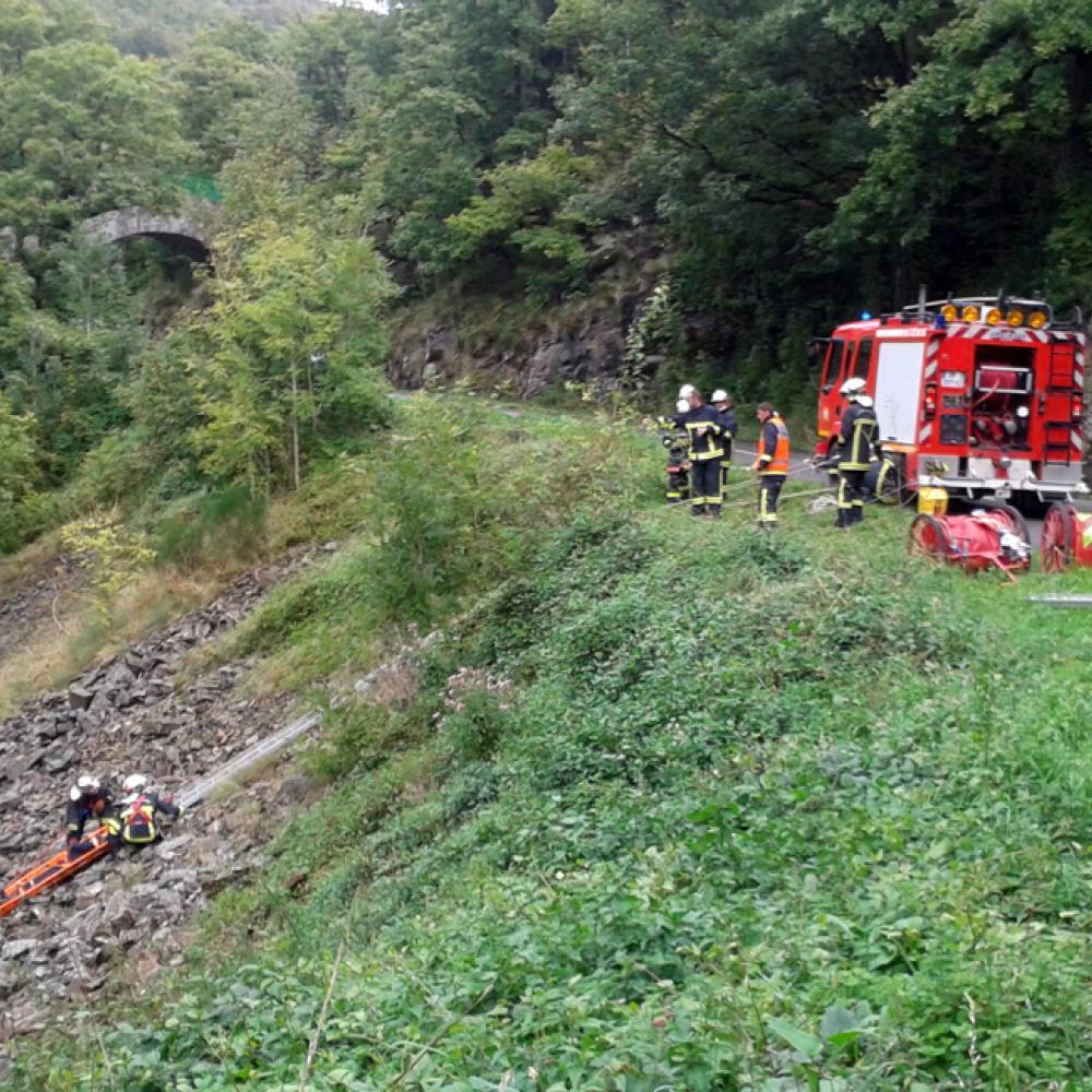 La formation des nouveaux sapeurs-pompiers professionnels continue