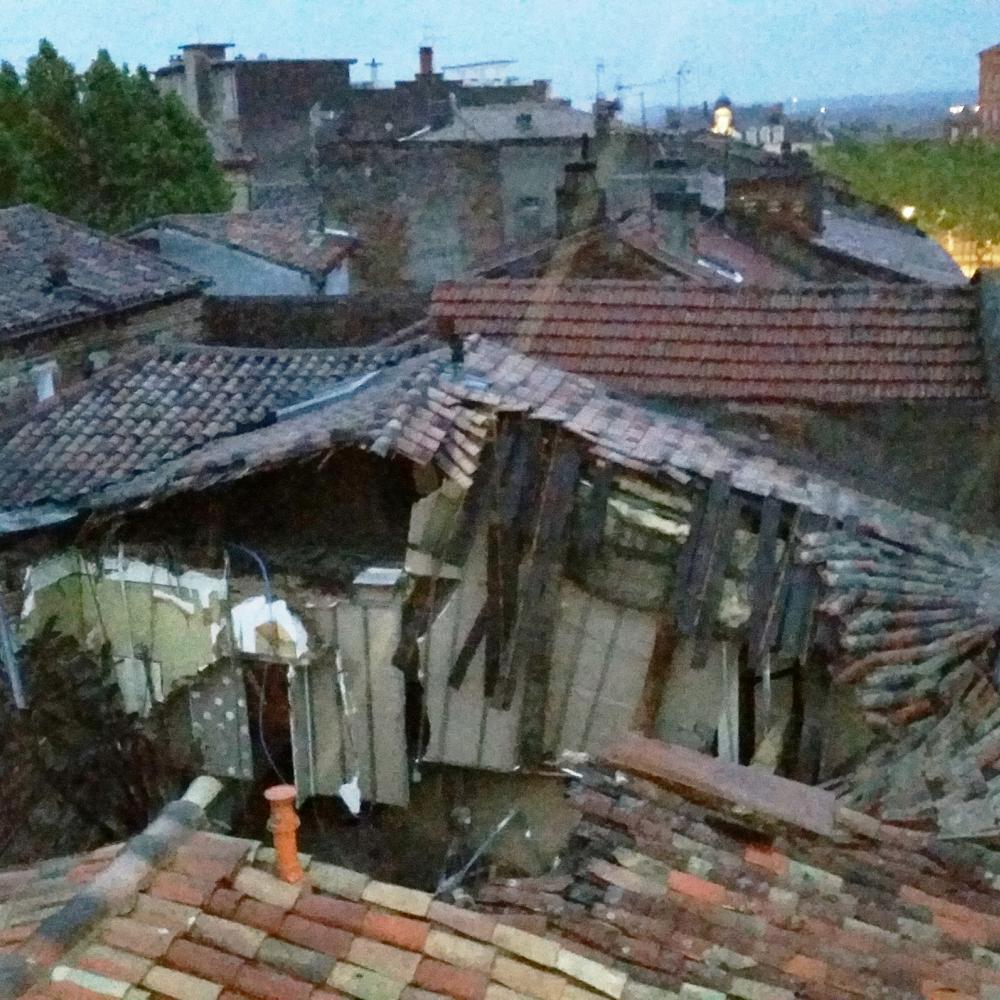Effondrement dans un immeuble sur la commune de Gaillac