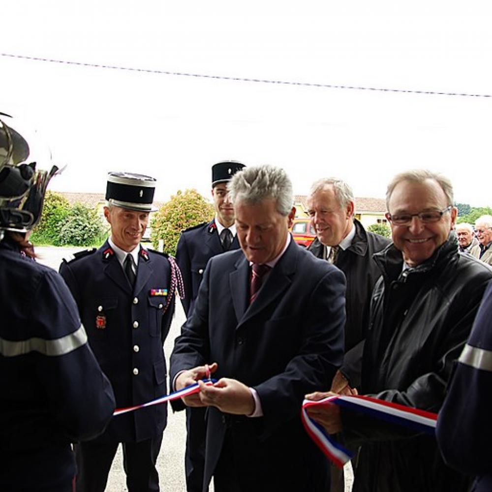 Inauguration à Saint-Paul-Cap-de-Joux