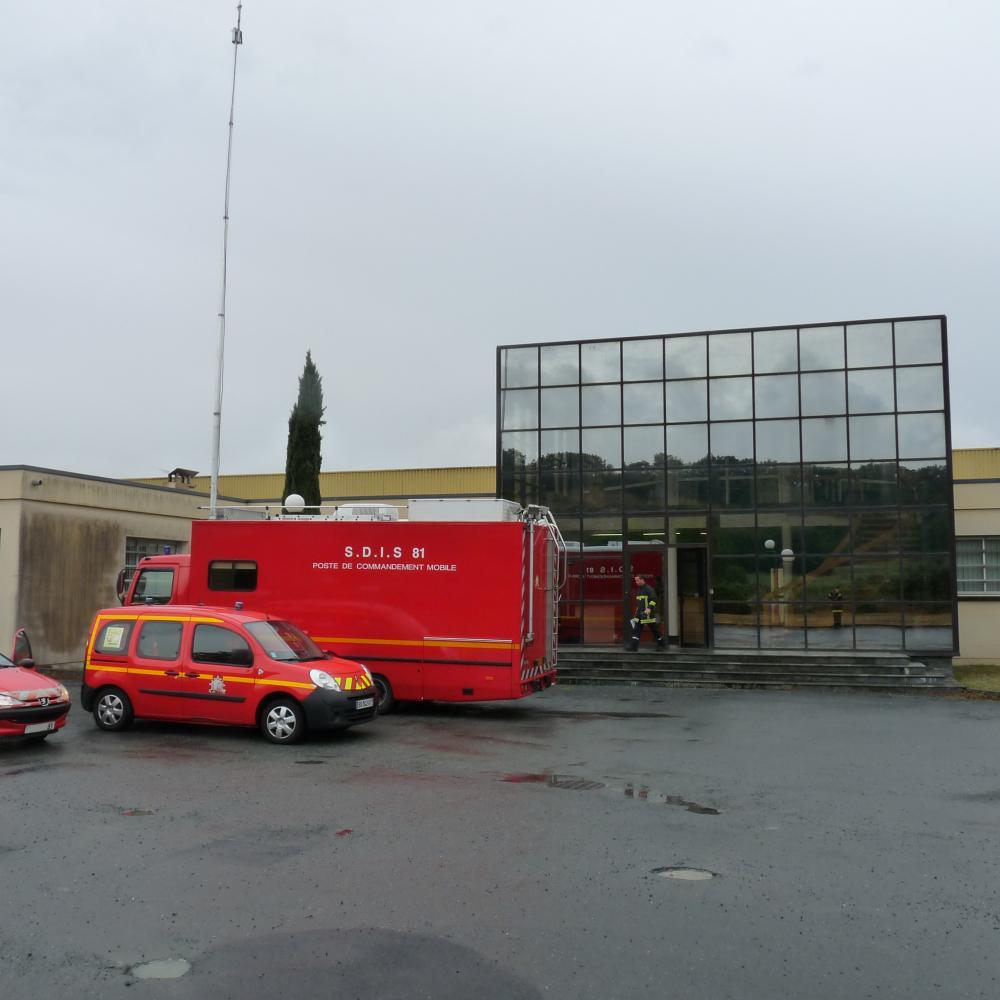 Exercice du plan particulier d'intervention sur le site EPC France de Montdragon