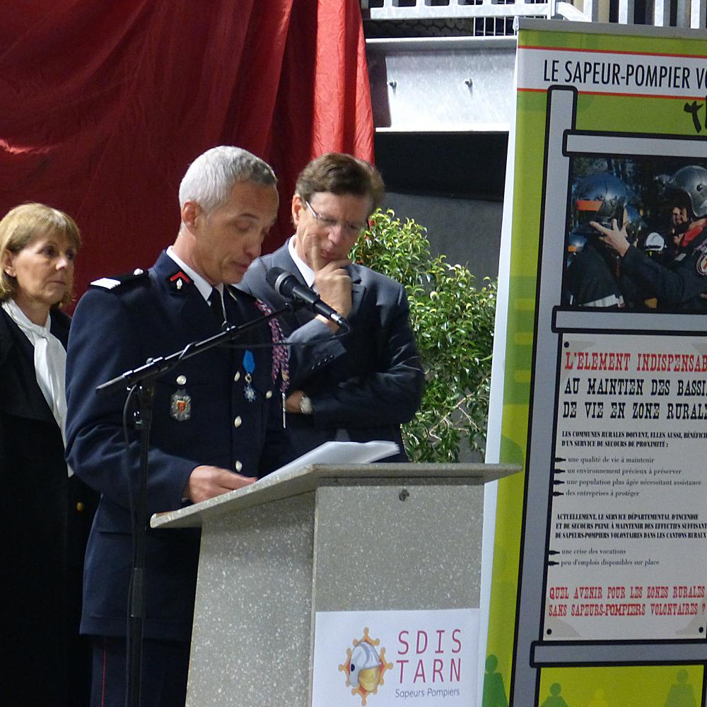 Sainte-Barbe départementale et inauguration de l'Etat-major