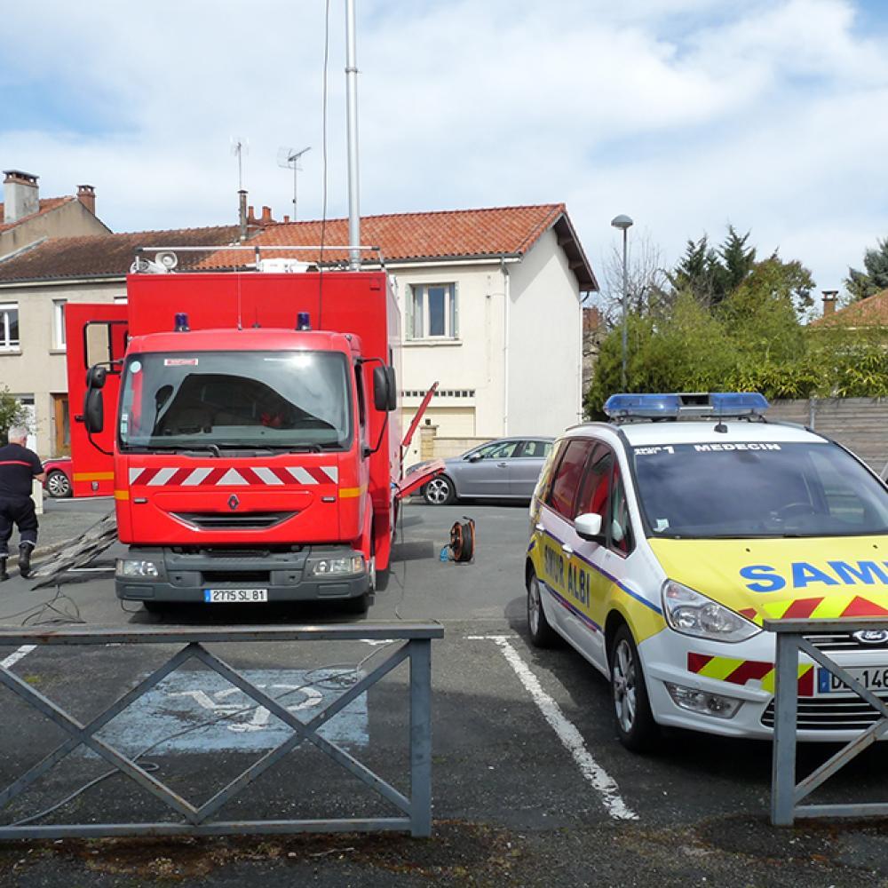 Une crèche évacuée à ALBI