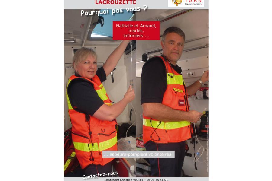 Les sapeurs-pompiers de Lacrouzette recrutent