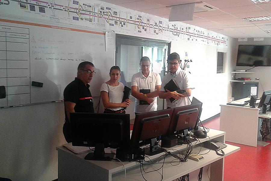Visite des représentants de l'Association des Maires et des Elus Locaux du Tarn (AMELT)