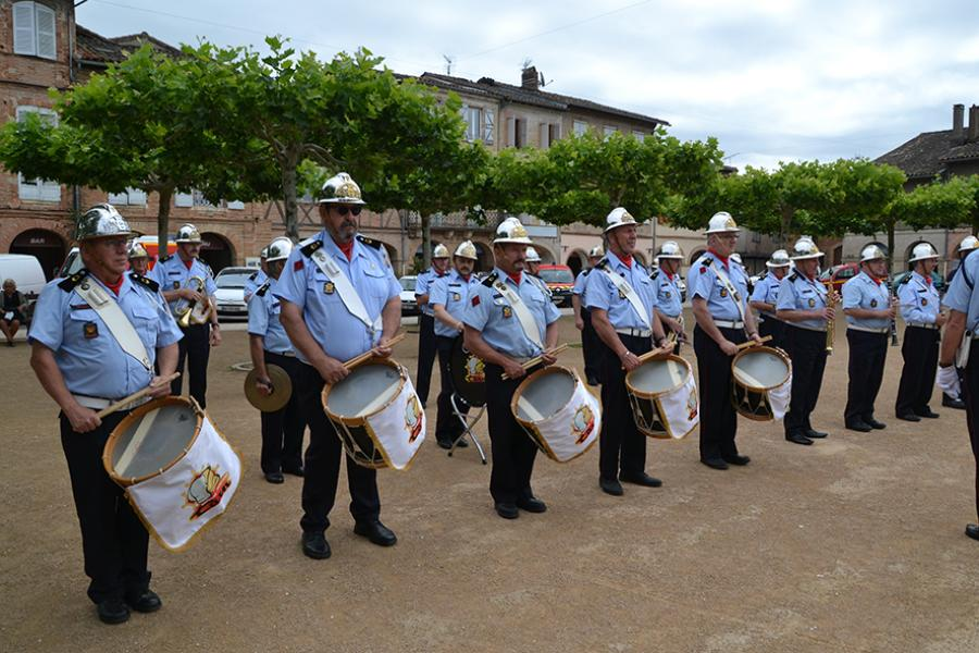 La Journée nationale des sapeurs-pompiers célébrée à Lisle-sur-Tarn
