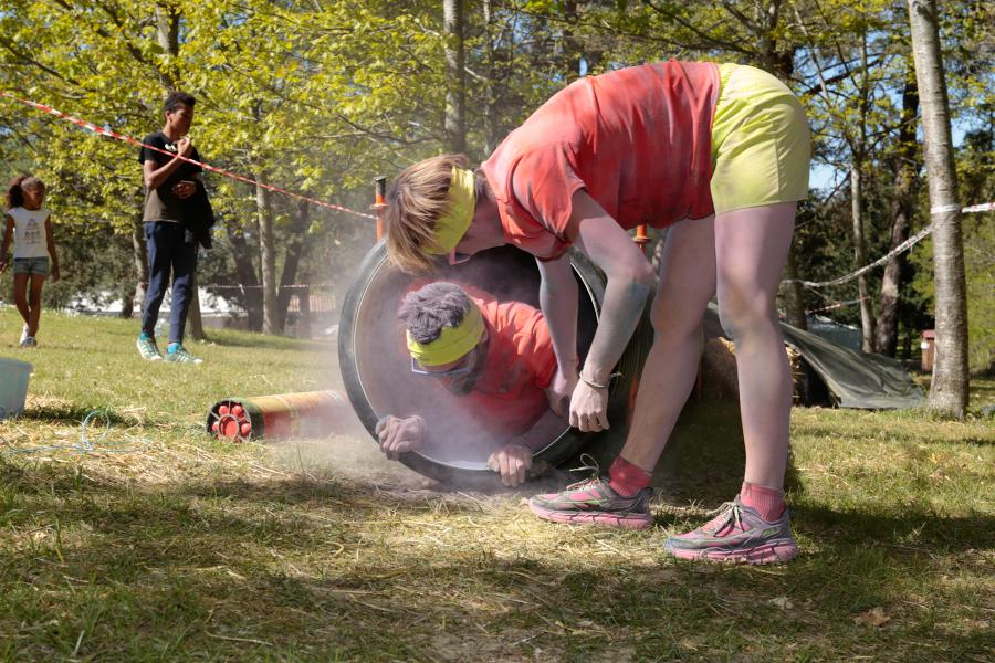 Parcours sportif des sapeurs-pompiers et SDISatlhon 2017