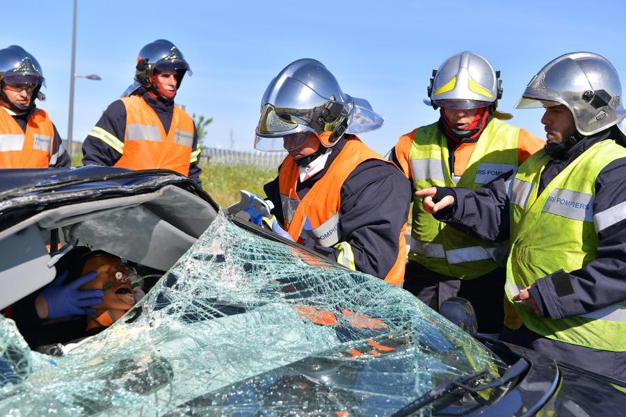 Les sapeurs-pompiers professionnels en Formation Initiale