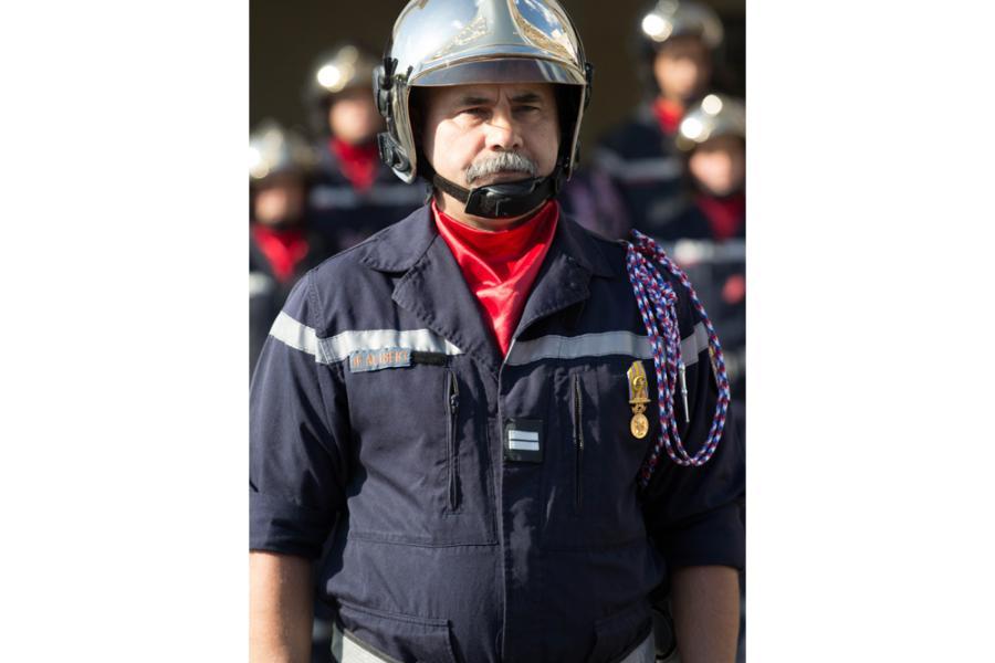 Passation de commandement au Centre d'Incendie et de Secours de Graulhet