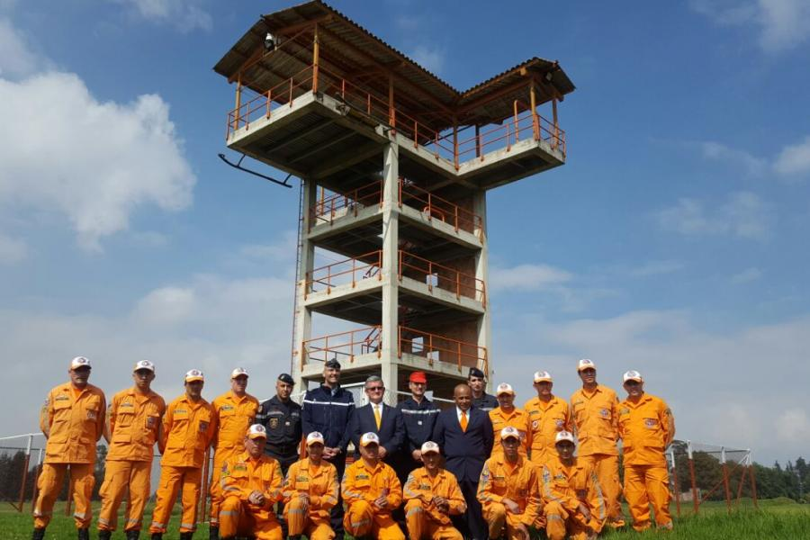 Un sapeur-pompier tarnais formateur en Colombie