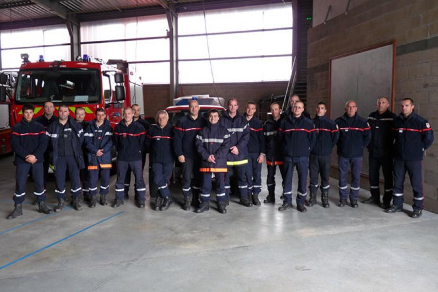 Les sapeurs-pompiers du Tarn en renfort dans le Calvados