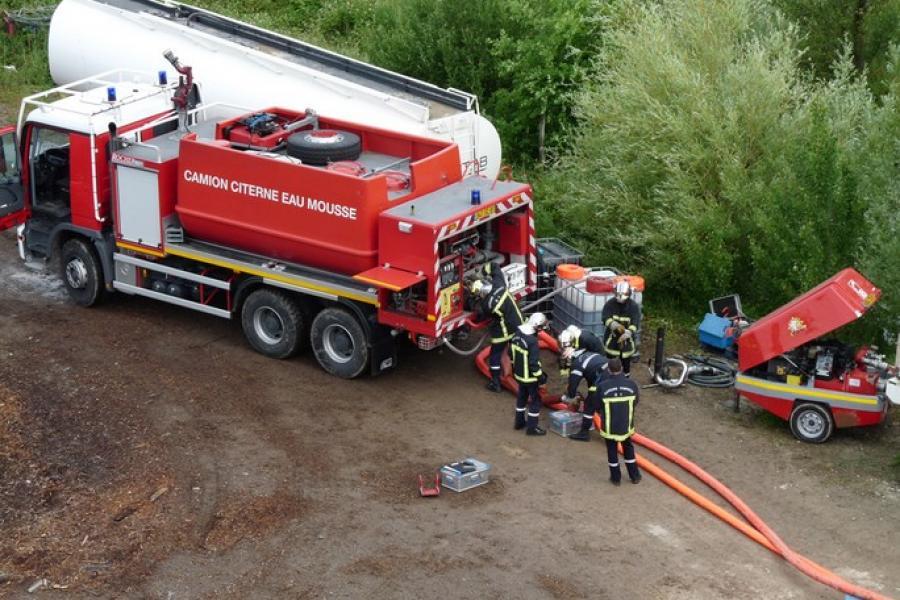 Défense incendie des stocks et dépôts de liquides inflammables