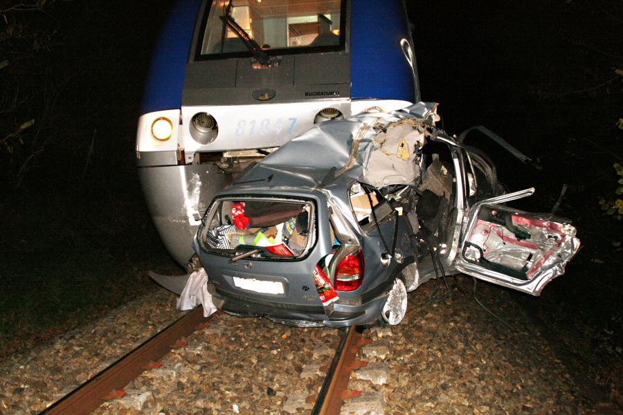 Collision entre un train et une voiture sur la commune de Fiac