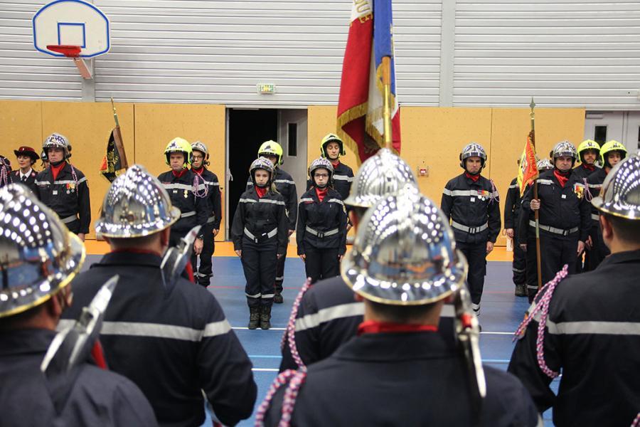 Sainte-Barbe Départementale 2018 : 33 récipiendaires