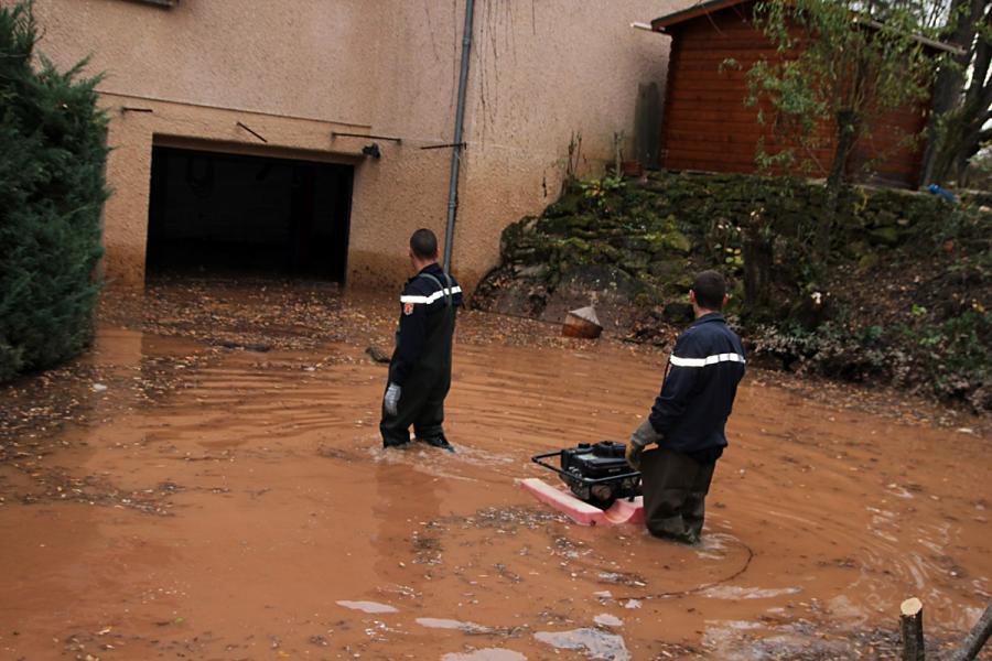 Crue de la rivière Tarn : les sapeurs-pompiers du SDIS 81 mobilisés