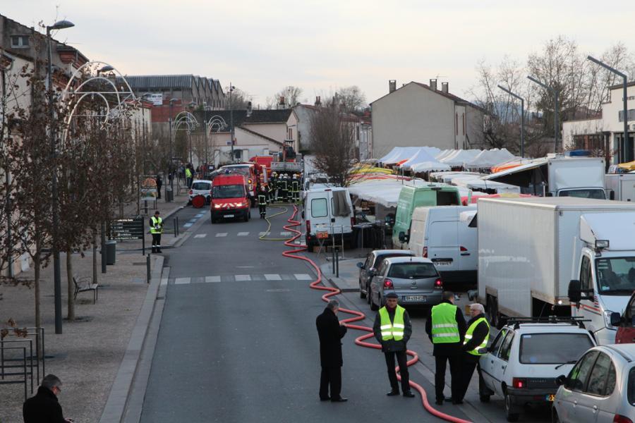 Evacuation de 200 personnes suite à une fuite de gaz à Saint-Juéry