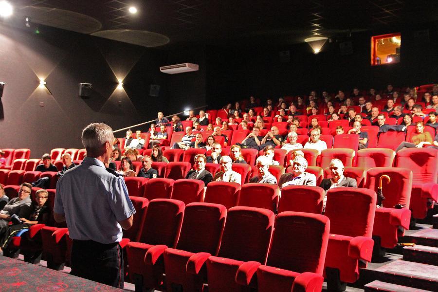 """Avant-première du film """"Les Hommes du feu"""" pour le personnel du SDIS du Tarn"""