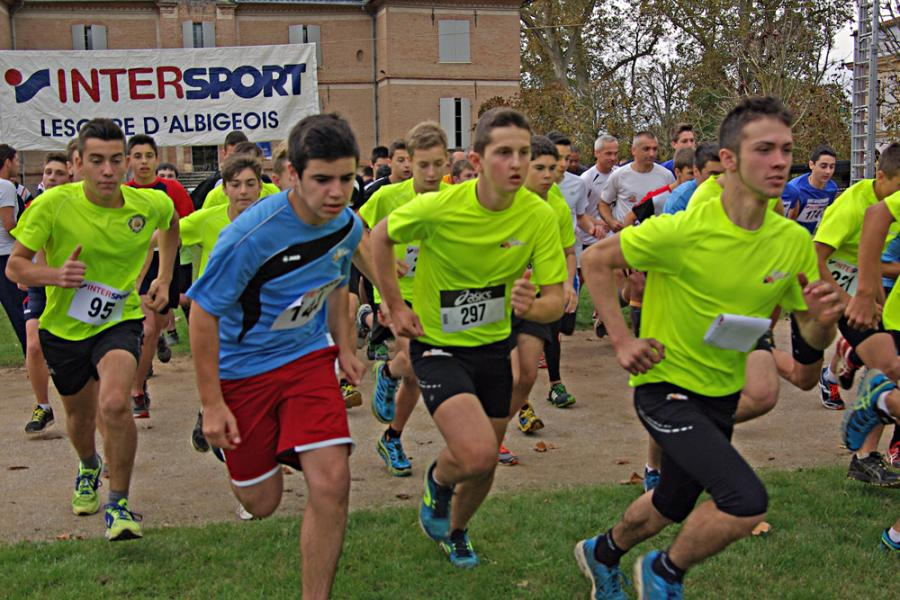 300 participants au cross départemental