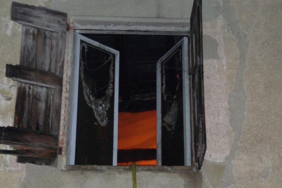 Feu d'habitation à Graulhet