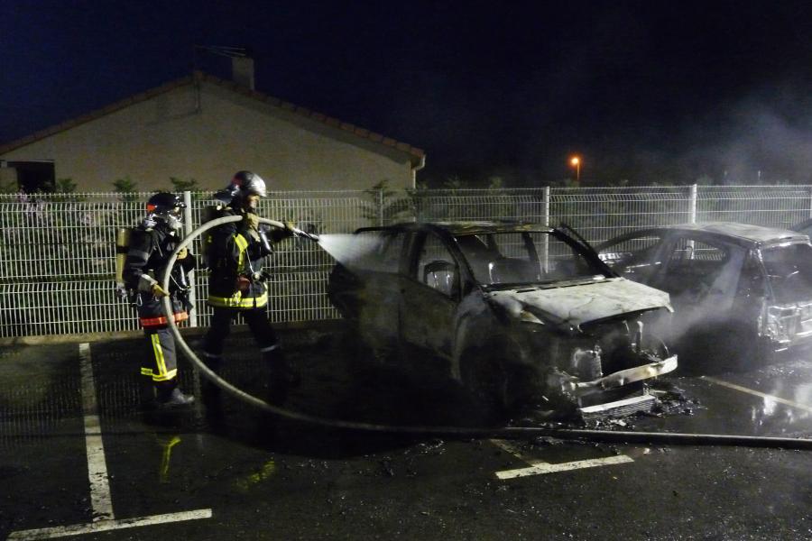 Feux de véhicules sur la commune de Gaillac