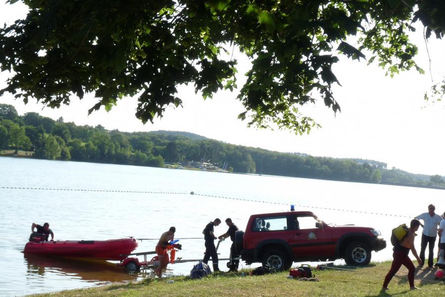 Noyade au lac de la Roucarié