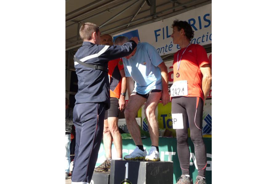 Cross départemental : quand les sapeurs-pompiers tarnais se confrontent à des coureurs internationaux