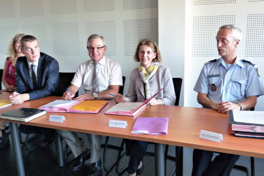 Emplois d'avenir : 7 jeunes recrutés au SDIS 81