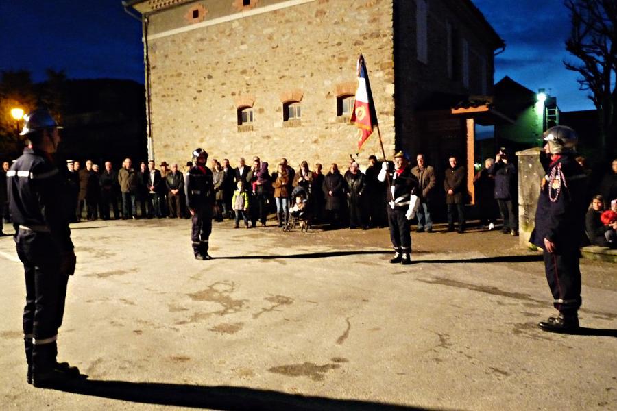 Passation de commandement du Centre d'Incendie et de Secours de Sorèze