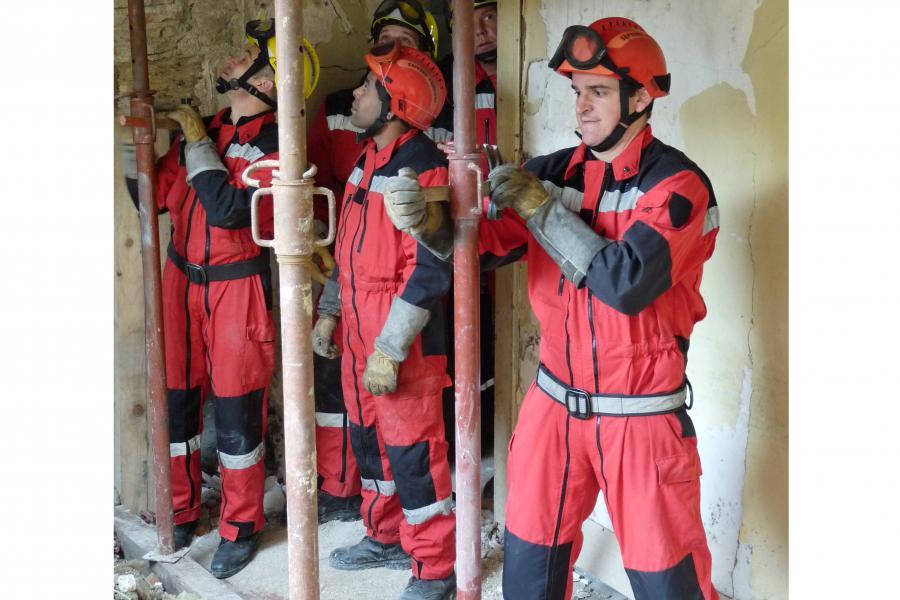Effondrement dans un bâtiment à Castres